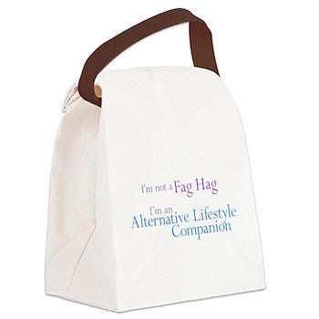 Alternative Lifestyle Compani Canvas Lunch Bag