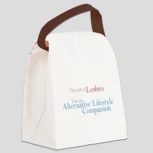 Alt. Lifestyle Companion Canvas Lunch Bag