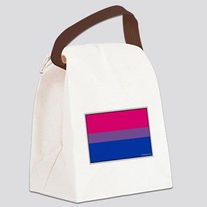 Bi-Sexual Pride Flag Canvas Lunch Bag