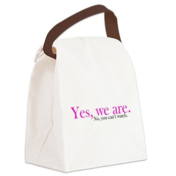 Yes, we are. Canvas Lunch Bag