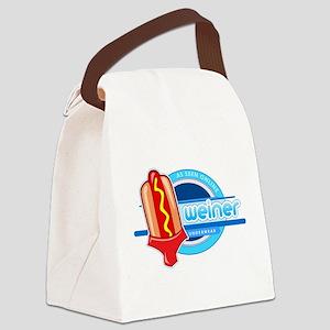 Weiner Underwear - Red Briefs Canvas Lunch Bag