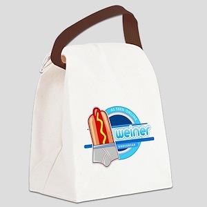 Weiner Underwear - Grey Brief Canvas Lunch Bag
