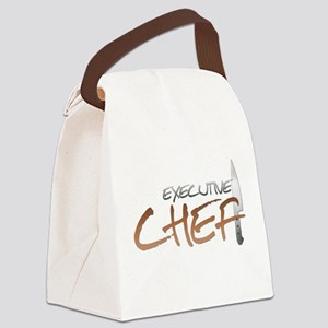 Orange Executive Chef Canvas Lunch Bag