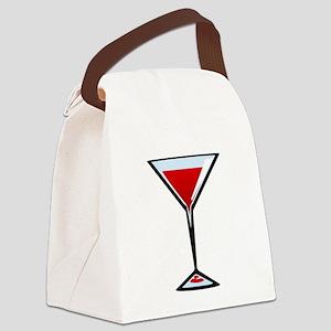 Vampire Martini Canvas Lunch Bag