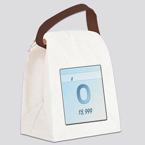 Oxygen (O) Canvas Lunch Bag