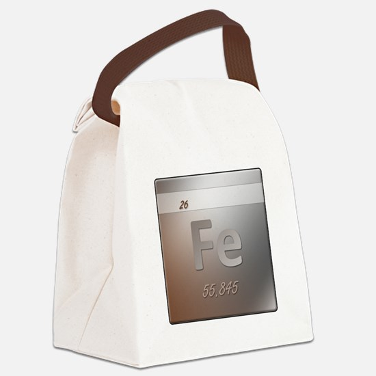 Iron (Fe) Canvas Lunch Bag