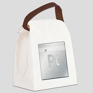 Platinum (Pt) Canvas Lunch Bag