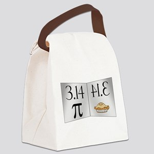 PI 3.14 Reflected as PIE Canvas Lunch Bag