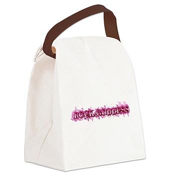 Rock Goddess Canvas Lunch Bag