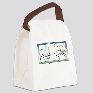 Horse Cock Canvas Lunch Bag