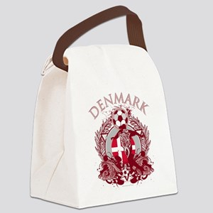 Denmark Soccer Canvas Lunch Bag