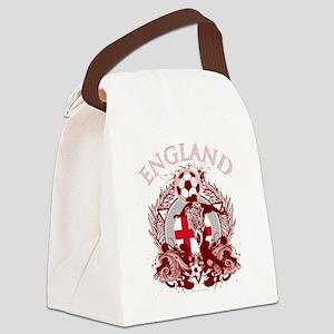 England Soccer Canvas Lunch Bag