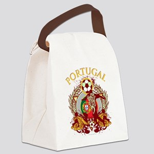 Portugal Soccer Canvas Lunch Bag