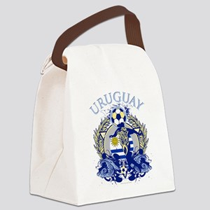 Uruguay Soccer Canvas Lunch Bag