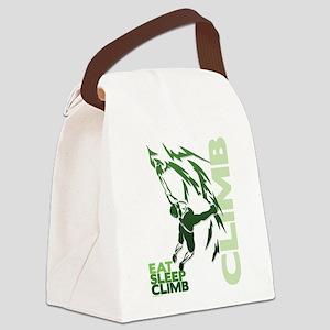 Eat Sleep Climb Canvas Lunch Bag