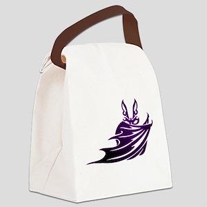 Vampire Bat 2 Canvas Lunch Bag