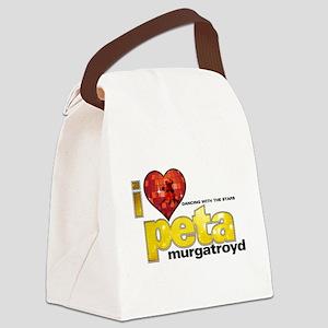 I Heart Peta Murgatroyd Canvas Lunch Bag