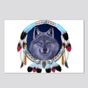 Dream Wolf Postcards (Package of 8)