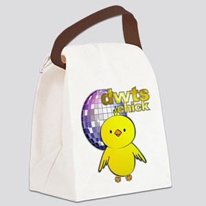 DWTS Chick Canvas Lunch Bag