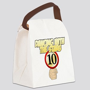 Dancing with the Stars - 10 Canvas Lunch Bag