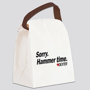 Sorry. Hammer Time. Canvas Lunch Bag