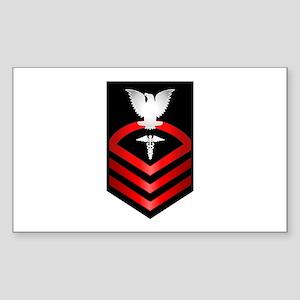 Navy Chief Hospital Corpsman Sticker (Rectangle)