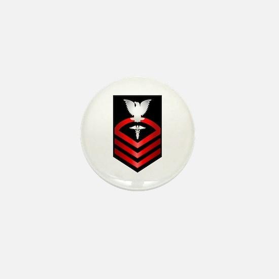 Navy Chief Hospital Corpsman Mini Button