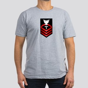 Navy Chief Hospital Corpsman Men's Fitted T-Shirt