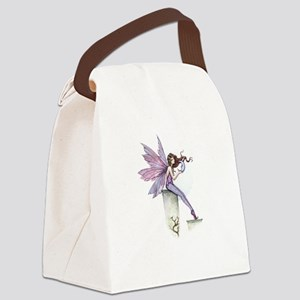 Whispering Moon Fairy Canvas Lunch Bag