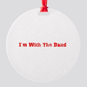 withtheband Round Ornament