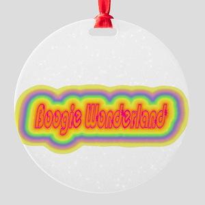boogiewonderland Round Ornament