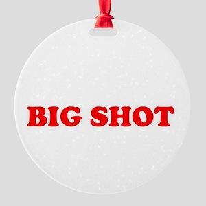 bigshot Round Ornament