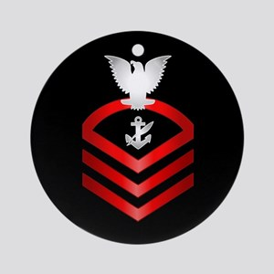 Navy Chief Counselor Ornament (Round)