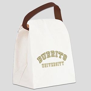 Burrito University Canvas Lunch Bag
