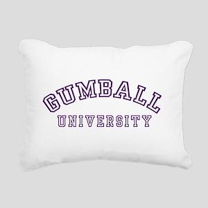 Gumball University Rectangular Canvas Pillow