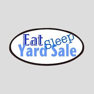 Eat Sleep Yard Sale Patches
