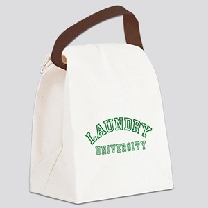 Laundry University Canvas Lunch Bag