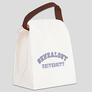 Genealogy University Canvas Lunch Bag