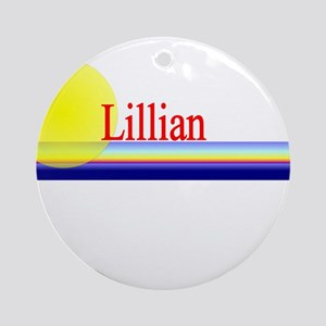 Lillian Ornament (Round)