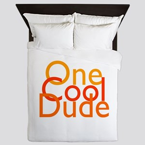 One Cool Dude Queen Duvet
