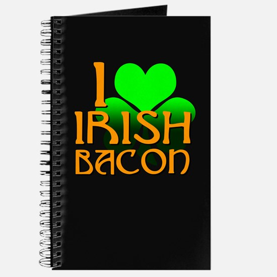I Love Irish Bacon Journal