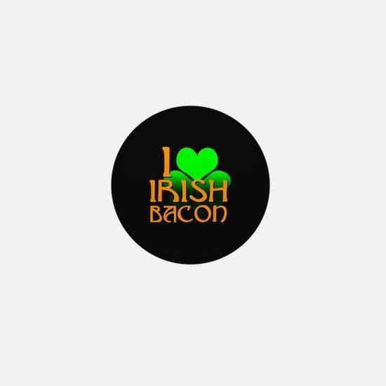 I Love Irish Bacon Mini Button