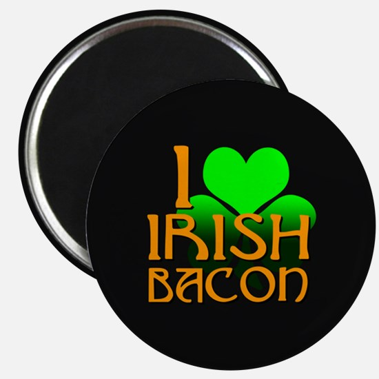 I Love Irish Bacon Magnet