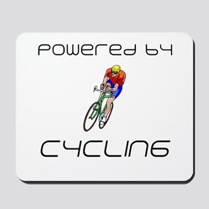 Powered By Cycling Mousepad