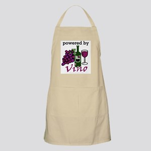 Powered By Wine Apron