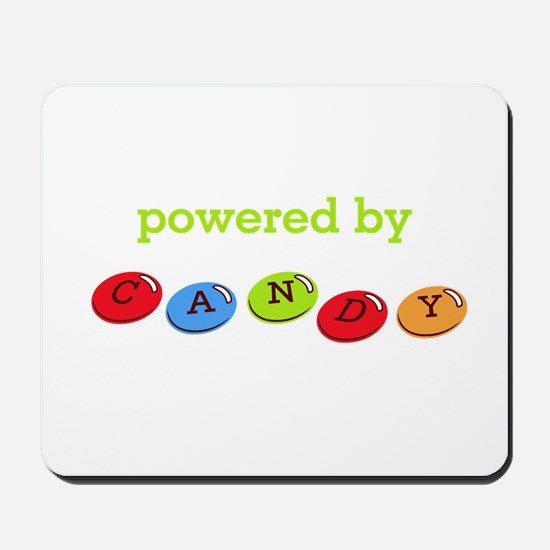 Powered By Candy Mousepad