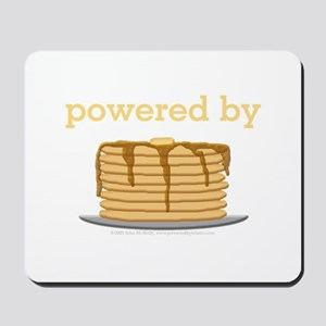 Powered By Pancakes Mousepad