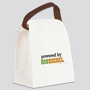 Powered By Biodiesel Canvas Lunch Bag