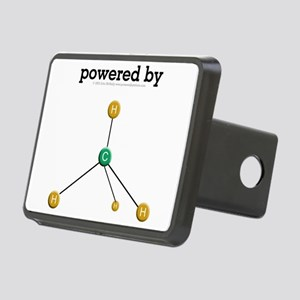 Powered By Methane Rectangular Hitch Cover