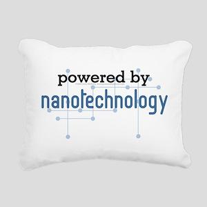 Powered By Nanotechnology Rectangular Canvas Pillo